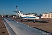 Yak-40 Flight Vologda to Vnukovo